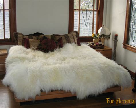 Fur Area Rug Shag Sheepskin Faux Fur Area Rug Thick Mongolian By Furaccents
