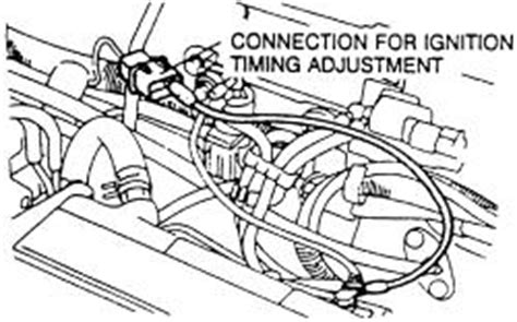small engine maintenance and repair 1999 mitsubishi diamante instrument cluster repair guides routine maintenance and tune up ignition timing autozone com