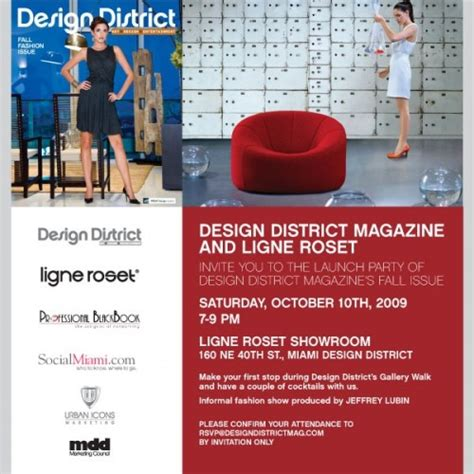 Design District Magazine | design district magazine fall fashion issue release party