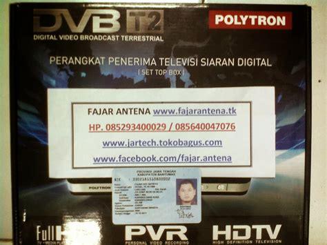 Set Top Box Polytron Dvb T2 Kabel Loop Out Baru Dan Bergar Sale Tv Digital Tegal Set Top Box