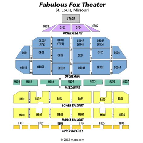 fabulous fox seating fabulous fox theatre st louis seating chart fabulous
