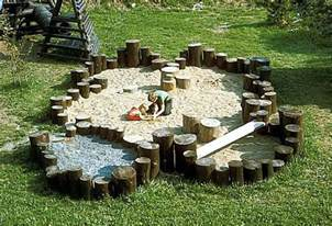 Backyard X Scapes Natural Playscape Nature Playground Sandbox Ideas