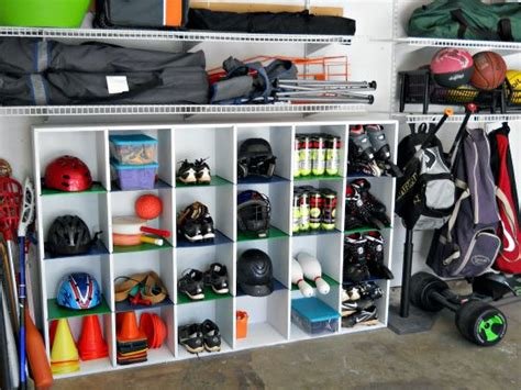 Garage Organization Ideas For Sports Equipment 25 Best Ideas About Sports Equipment Storage On