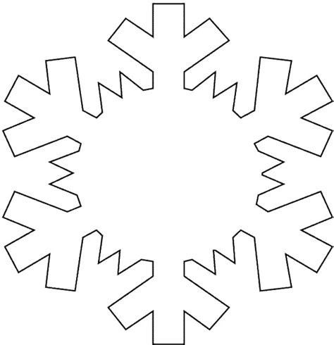 Snowflake Coloring Pages Snowflakes Printable Coloring Pages