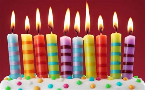 candele per compleanno candele per torte di compleanno