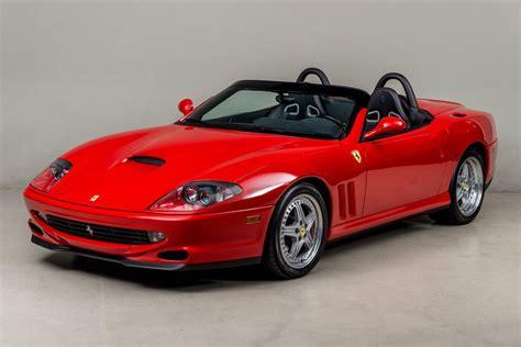 Ferrari Barchetta 550 do want ferrari 550 barchetta