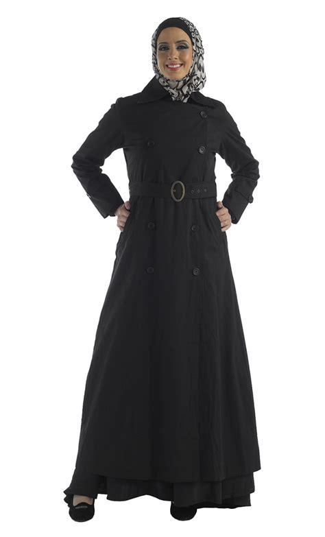 Outerwear Sweater Pakaian Wanita Muslim cotton twill jilbab jacket