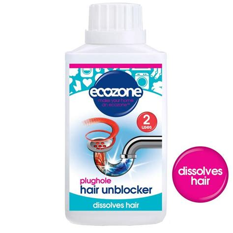 Hair Unblocked by Ecozone Plughole Hair Unblocker 250ml From Ocado