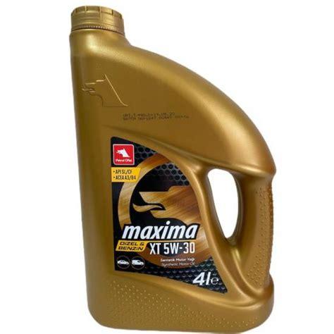 petrol ofisi maxima xt    litre motor yagi lubegross