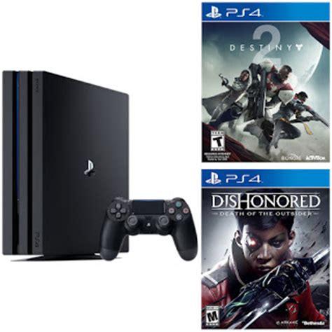 Destiny 2 Reg 3 Ps4 Second sony playstation 4 pro 1tb black console destiny 2 dishonored 399 reg 470