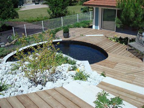 Prix D Une Terrasse En Béton 3240 by Nivrem Pose Terrasse Bois Jardin Diverses Id 233 Es De