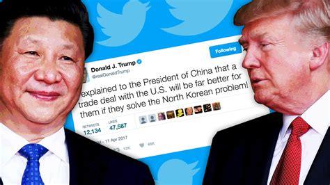 trump china north korea trump s weak tweet china diplomacy won t stop north korea