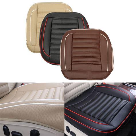 car seat cover black health cushion 50x50cm pu leather car cushion seat chair cover black