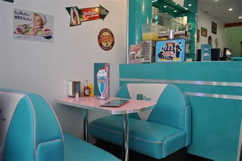 HD Diner   Lille, France: 50s retro decor from Bars and Booths