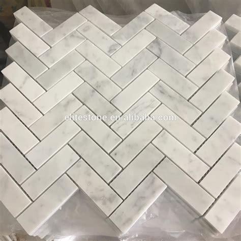azulejos marmol azulejo mosaico de m 225 rmol 30x30 espiga carrara blanco