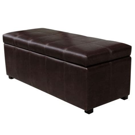 brown faux leather ottoman crazy sales cheap online shopping australia