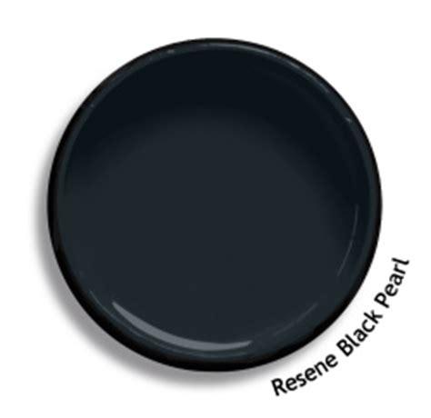 black paint swatch resene black pearl colour swatch resene paints
