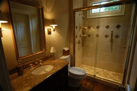 Guest Bathroom Designs Luxury Guest Bathroom Traditional Bathroom Atlanta By Griffith Construction Design Inc
