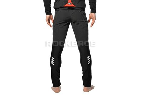 mens bike riding rockbros cycling bike long pants black lazada malaysia