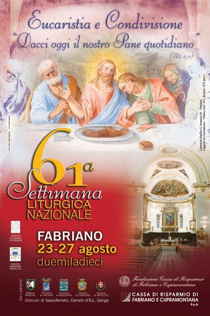 ufficio liturgico nazionale ufficio liturgico nazionale settimana liturgica nazionale