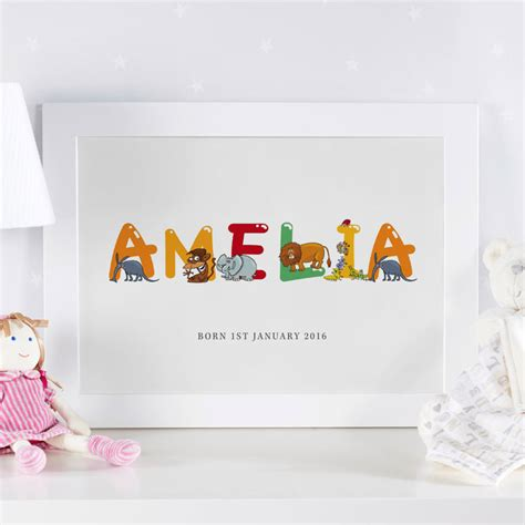 printable name art personalized children s name art prints canvases