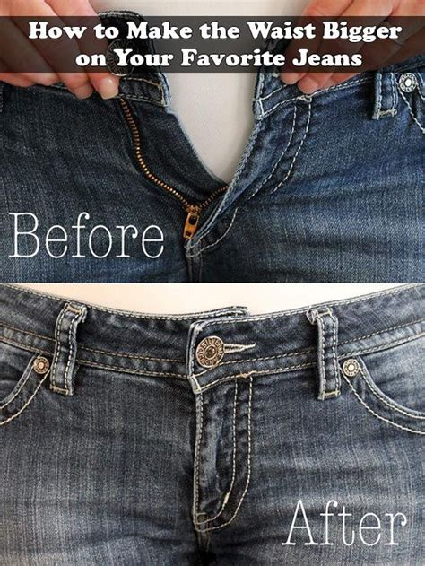 How To Make The Waist Bigger On Your Favorite