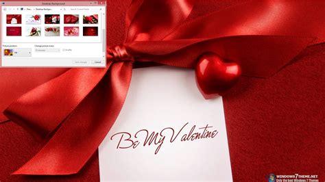 valentine theme for windows 8 1 be my valentine windows 7 theme download