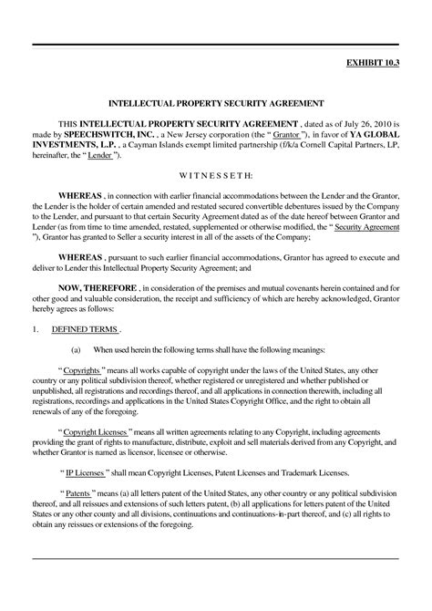 intellectual property license agreement template intellectual property license agreement template 28