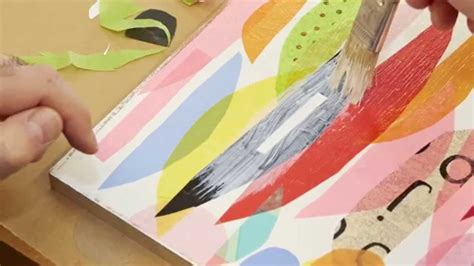 How To Make Paper Collage - how to tissue paper collage