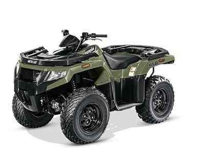 new 2016 arctic cat alterra 450 forest green atvs for sale