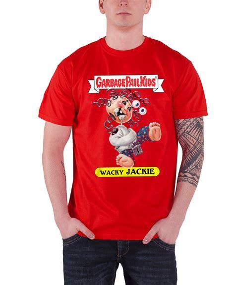 Garbage Clothing Brand Garbage Pail T Shirt Wacky Jackie Character Logo