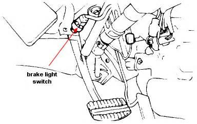 Brake Lights Wont Turn Hyundai Elantra Stop Light Switch Location 97 Vada Stop Get Free Image