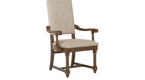 bleecker cherry upholstered arm chair traditional