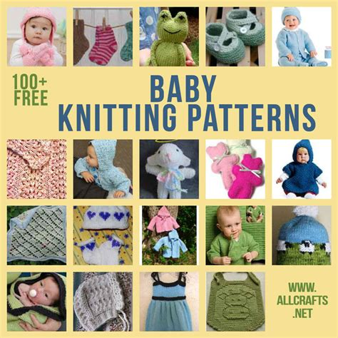 all crafts 100 free baby knitting patterns allcrafts free crafts