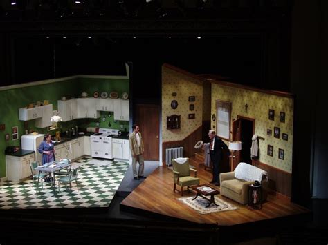 play stage for room jr bruce scenic design scenic subject was roses