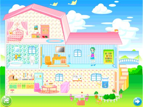 doll house design games doll house decorating game android apps on google play