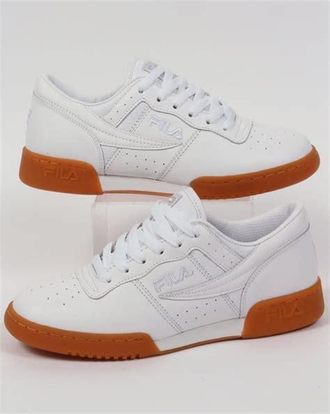 vintage fila sneakers fila vintage original fitness premium trainers white shoes 80s