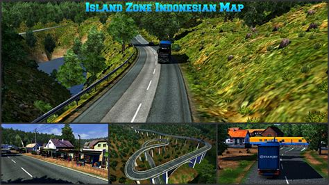 download mod bus indonesia game euro truck simulator 2 island zone indonesian map ets 2 download mod youtube