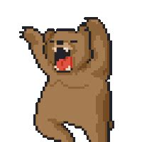 Apple Decor For Home bear pixel pictures images amp photos photobucket