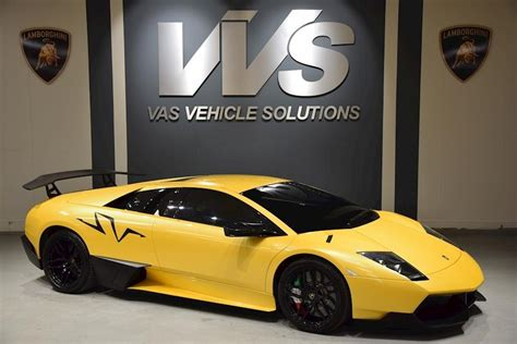 used lamborghini murcielago used 2017 lamborghini murcielago lp670 4 sv for sale in