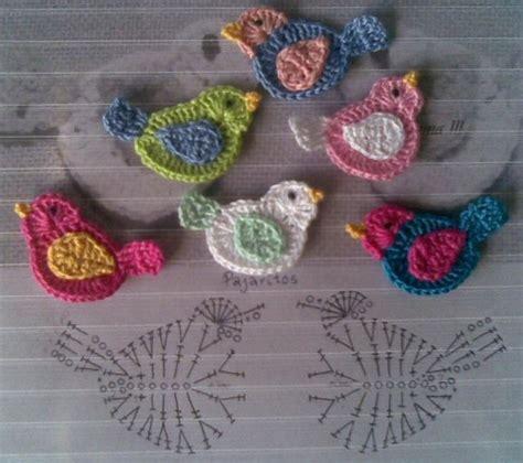 pattern bird pinterest bird applique crochet crochet pinterest flower