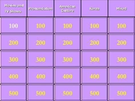 Esl Jeopardy Ideas For Jeopardy Categories
