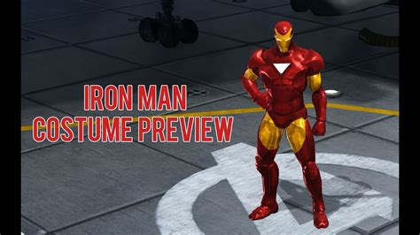 Boneka Marvel Heroes Iron iron costume preview marvel heroes omega pc ps4 xbox
