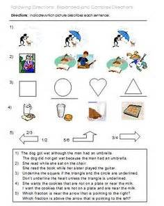 Celdt Practice Worksheets by Following Directions Worksheets Activities Goals And