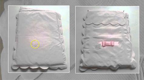 como hacer colchas para bebe colcha de coche piqu 233 rosa youtube