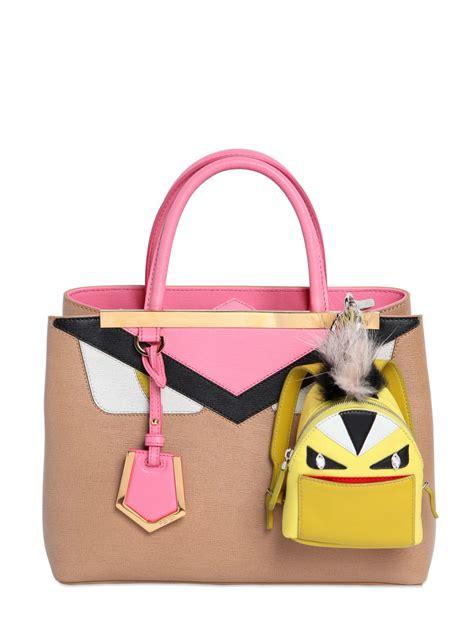 Fendi Handbag Charm by Fendi Animation Bag Charm With Fur Lyst