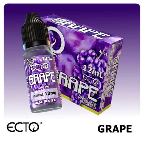 Eliquid E Liquid Grappy ecto e liquid grape flavor nh cigars