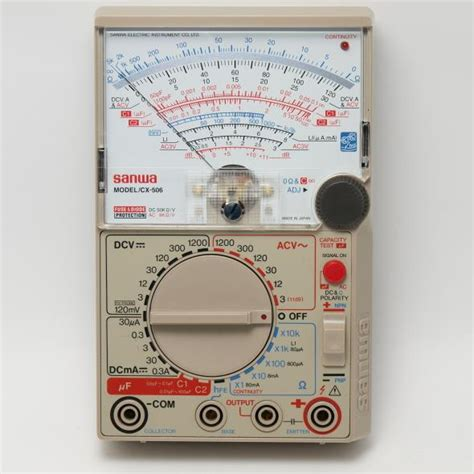 Multimeter Analog Merk Sanwa sell sanwa cx506a analog multimeter from indonesia by toko
