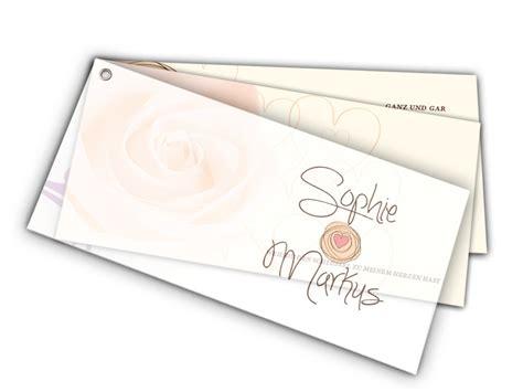 Hochzeitseinladung Deckblatt by Hochzeitseinladung Mit Weil Es Passt