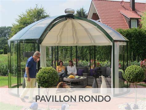 gartenpavillon rund der hochwertige luxus pavillon f 252 r ihren garten